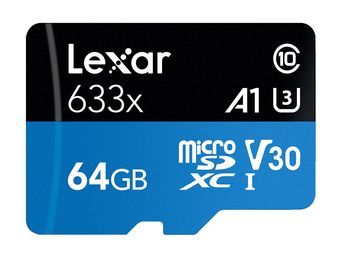Lexar 64 GB microSDXC Pro 633X UHS-I V30