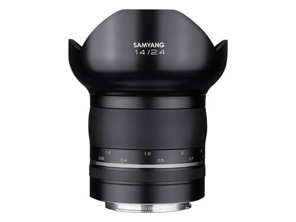 Samyang XP 14mm f/2.4 ultravidvinkel för astrofotografering och landskapsfotografering