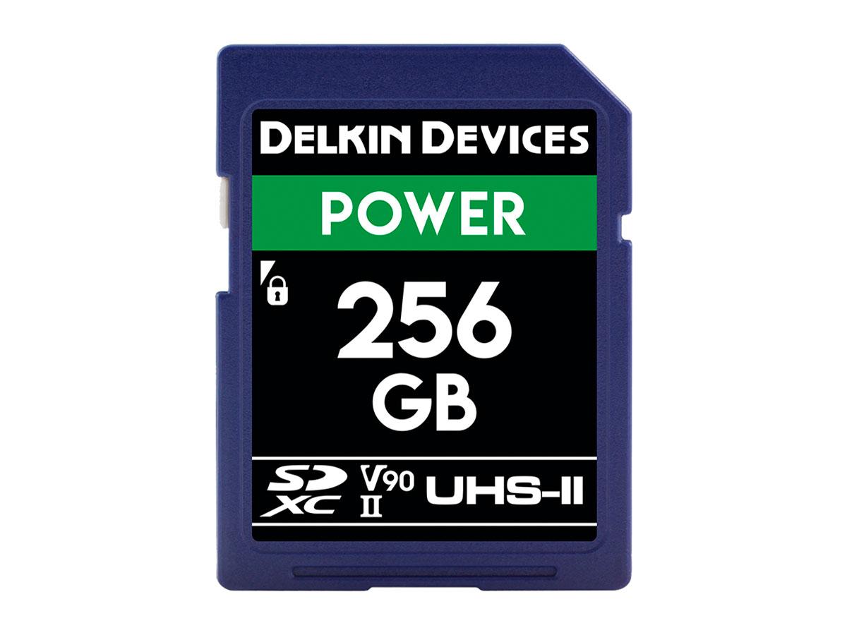 Delkin 256 GB SDXC Power 2000X UHS-II V90